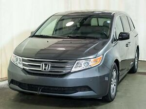 2013 Honda Odyssey EX-L-RES Passenger Van w/ Rear DVD, Leather,
