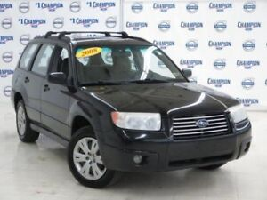 Looking to buy 2008 Subaru Forester SUV, manual transmission