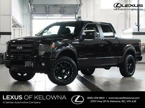 2014 Ford F-150 4X4 SuperCrew Cab FX4