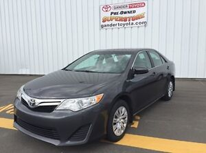 2012 Toyota Camry LE with warranty remaining