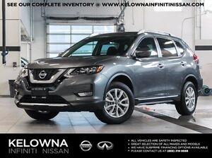 2017 Nissan Rogue SV All-wheel Drive with Moonroof, Technology a