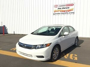 2012 Honda Civic EX 4dr Sdn Manual Trans FWD