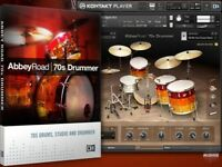 Native Instruments Abbey Road 70s Drummer VST plugin GENUINE - download only