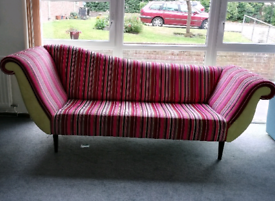 Fabulous custom and hand made large chaise longue/sofa