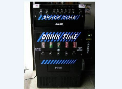 Drink Time Soda / Snack Vending Machine, with bill changer