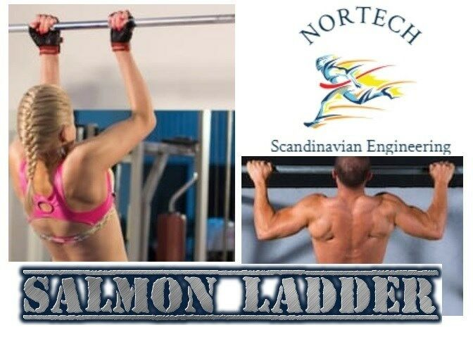 "Nortech: Salmon Ladder, Pull ups, Limited time------ ""FREE SHIPPING""  2 pieces"