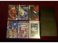 Ps2 and 6 games
