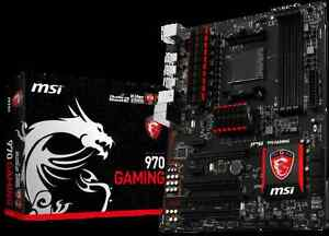 MOTHERBOARD MSI 970 GAMING+PROCESSEUR AMD FX 8350 8 CORE