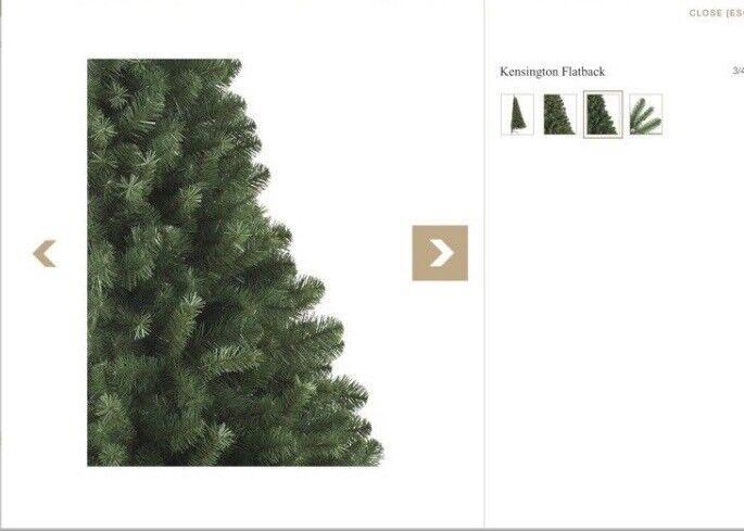 brand new flat back christmas tree in swindon wiltshire gumtree