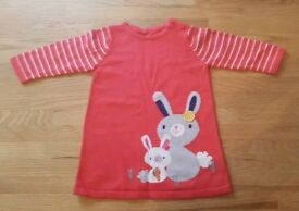 2 x Mothercare Baby Tops - 3-6 months
