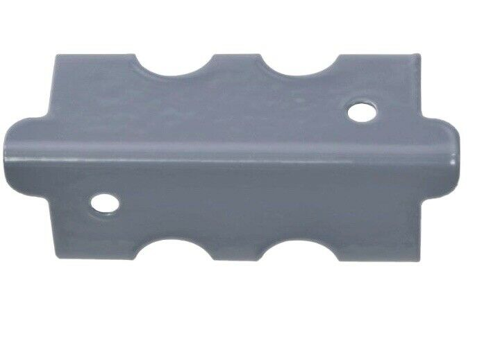 "Edsal Muscle Rack D Steel Post Coupling GREY (4 Pack) 4""H x 1.375""W x 1.375""D"