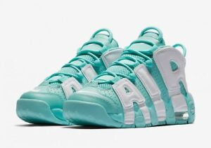NIKE Air More Uptempo Island Green size 6 Y or 6.5 Y 6225ead94