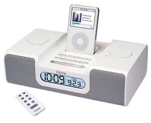 Ihome clock radio am fm ipod