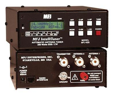 MFJ-929 HF (1.8 - 30MHz ) Automatic Antenna Tuner 200W with SWR/Wattmeter. Buy it now for 264.95