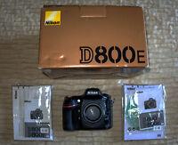 * * * SELLING Nikon  D800E
