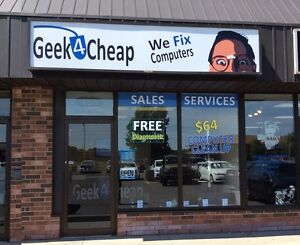 Geek4Cheap ★ $64 Computer Clean up SALE ★ 455 Grand Ave East