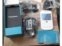 (NEW) BlackBerry Curve 9320 Boxed white on Vodafone