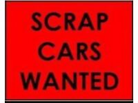 07806 880 744 CAR VAN WANTED CASH FOR SCRAP SELL WE BUY ANY COLLECTION sell we buy