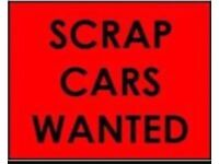 07806 880 744 CAR VAN WANTED CASH FOR SCRAP SELL WE BUY ANY COLLECTION