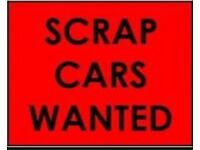 07806 880 744 CAR VAN WANTED FOR CASH SCRAPPING COLLECTION BIKE