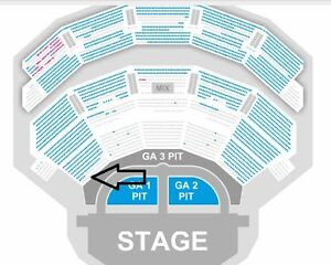 2 Hard Copy Tickets Ricky Martin Las Vegas July 1 Monte Carlo