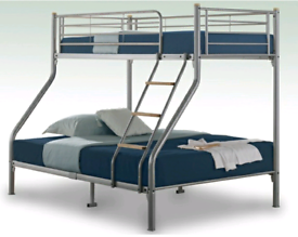 Triple bunk bed frame