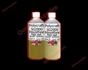 Polycraft-SG2000-250gm-Fast-Cast-Polyurethane-Liquid-Plastic-Casting-Resin-kit