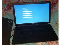 HP laptop 17 p100na 8GB Ram 1TB