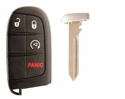 Dodge Journey Remote Oem  Prox Uncut Key Fob Transmitter Push To Start