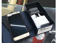 SAVE £140!!! *With Receipt* Brand New Samsung S7 Edge GOLD PLATINUM Unlocked Fully Boxed