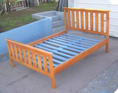 Solid Timber Double Bed Frame