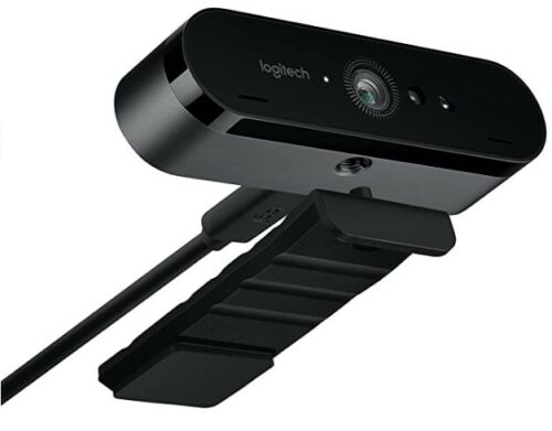 LOGITECH BRIO ULTRA HD PRO WEBCAM 4K with HDR and Windows Hello support