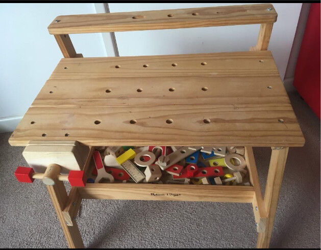 Phenomenal Melissa Doug Wooden Toy Work Bench With Tools In Oxford Oxfordshire Gumtree Squirreltailoven Fun Painted Chair Ideas Images Squirreltailovenorg