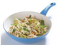 Colourful wok