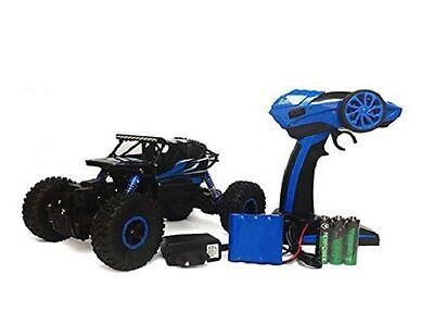 RC Rock Crawler Conqueror blue, 4WD M 1:18 2,4 GHz inkl Akku + Ladegerät NEU
