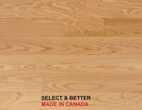 NATURAL RED OAK – SELECT AND BETTER – MADE IN CANADA -ONLY $3.99