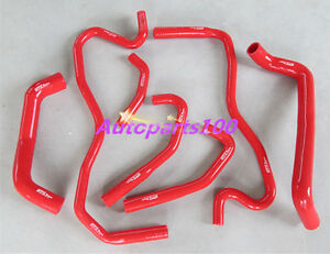 HOLDEN-COMMODORE-VE-6-0L-LS2-SS-HSV-2006-ON-SILICONE-RADIATOR-HEATER-HOSE-RED