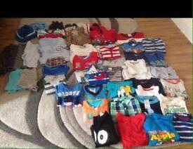 Boys large bundle of clothes