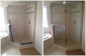GLASS & MIRROR Installers - Showers, Partitions, Railings