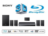 Sony Blu-Ray 3D Home surround cinema system 5.1 USB, AUH, Internet. Delivery options available