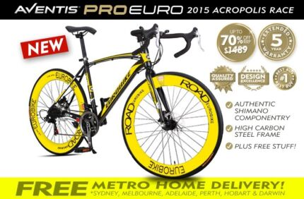 BRAND NEW 2015 21 GEAR CARBON STEEL FRAME SHIMANO 700CCWA Perth Region Preview