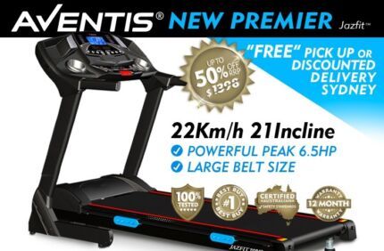 BRAND NEW PREMIER ELECTRIC TREADMILL 6.5 HP PRO-FITNESS NSW Sydney Region Preview