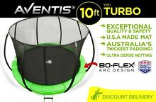 BRAND NEW ROUND TRAMPOLINE PLAY SAFE ENCLOSURE PADDED 10ft QLD Coorparoo Brisbane South East Preview