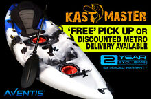 BRAND NEW CANOE FISHING KAYAK KAST-MASTER BLUE w PADDLE &SEAT NC Newcastle Region Preview