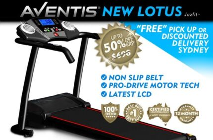 BRAND NEW LOTUS PERFORMANCE TREADMILL PRO-DRIVE MOTOR FITNESS NSW Sydney Region Preview