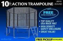 BRAND NEW 10FT FUN ROUND ENCLOSED ACTION TRAMPOLINE JS010 NSW Sydney Region Preview