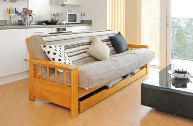 wooden double 3 seater futon  pany sofa bed with under storage 3 seater futon sofa bed   farmersagentartruiz    rh   farmersagentartruiz