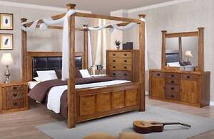 new Bed Frame HARDWOOD bedroom  EZI-PAY $16p/w Bundall Gold Coast City Preview