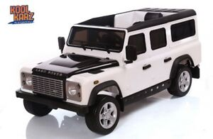 Electric Ride On Toy Car Land Rover + Wireless Remote