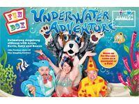 FUNBOX Underwater Adventure tickets at His Majesty Theatre Aberdeen Saturday 19th August 3pm